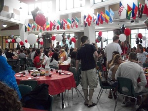 Senior Breakfast in full swing