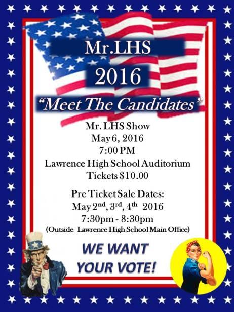 Mr. LHS Show 2016