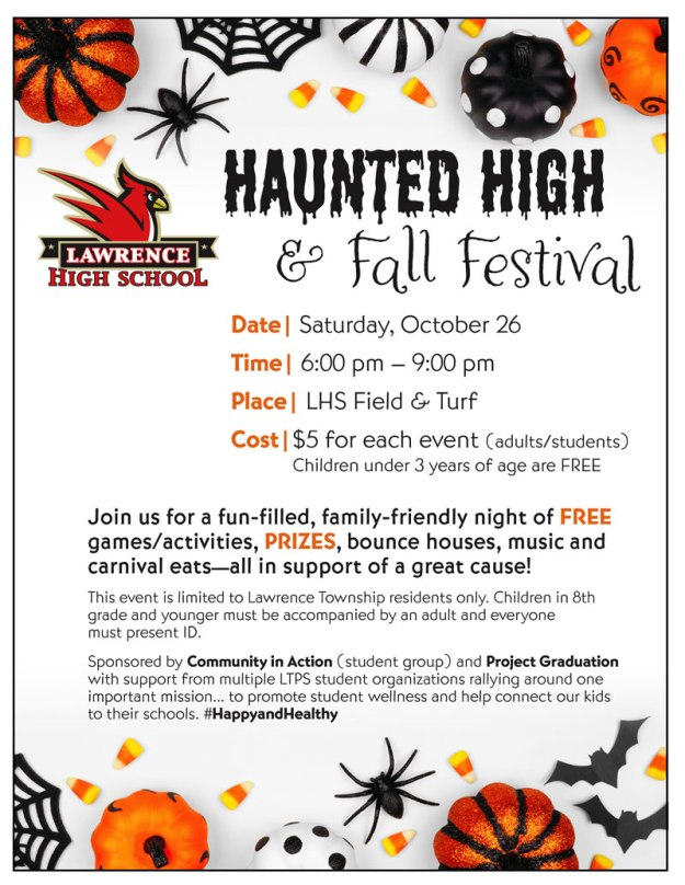 haunted high event Oct 26 2019 6pm