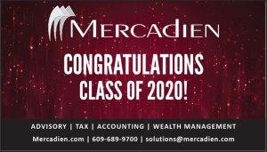 Mercadien congratulations ad